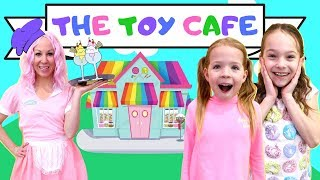 Download Addy and Maya Visit the New Toy Cafe Video