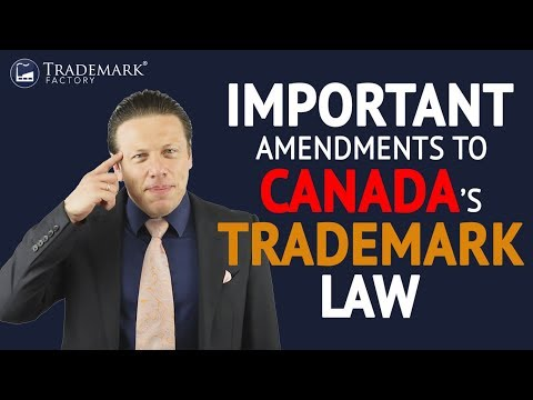 Canadian Trademark Law Amendments 2017