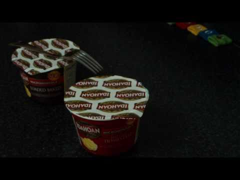 New Idahoan Microwavable Mashed Potatoes Review in HD