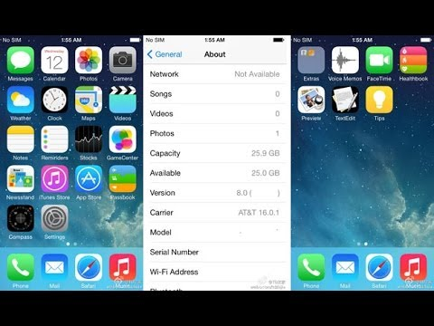 [LEAKED] IOS 8 BETA 1 DOWNLOAD LINKS AND INSTRUCTIONS NO UDID OR DEVELOPER ACCOUNT. FREE JAILBREAK