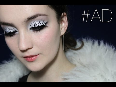 Snow Leopard Inspired Makeup – (Planet Earth II)