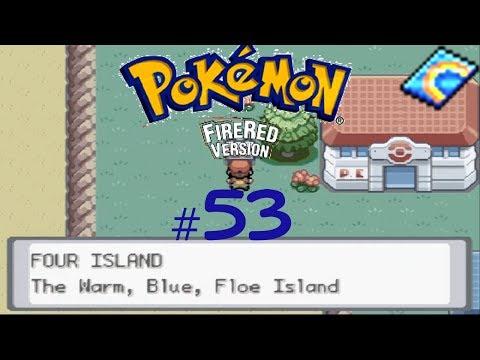 Pokémon Fire Red Episode 53: Four Island Ahoy