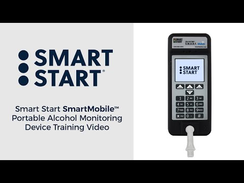 Smart Start S.M.A.R.T. Mobile Portable Alcohol Monitoring Device Training Video