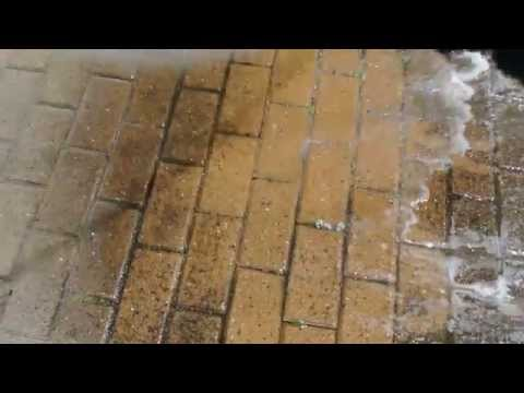 No more power/jet washing Cleaning patio drives paths brick stone concrete garden hose pressure.