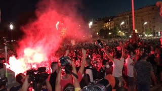 Riot Police Break Up Anti-Government Protests In Belgrade