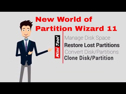 MiniTool Partition Wizard 11-  The Best Partition Manager