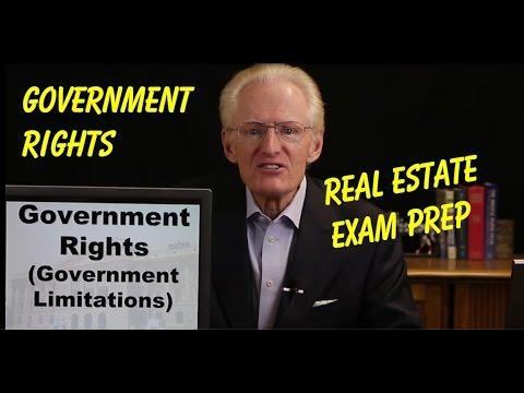 04 Government Rights-Arizona Real Estate License Exam Prep