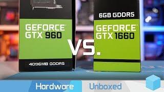 GeForce GTX 960 vs. GTX 1660: Putting Nvidia's 113% Claim to the Test!