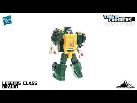Optibotimus Reviews: Transformers Titans Return Legend Class BRAWN