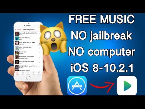 Get FREE MUSIC NO jailbreak NO computer iOS 8-10.2.1 FREE 2017