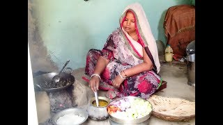SPECIAL INDIAN MORNING ROUTINE 2018 IN HINDI || VILLAGE STYLE BREAKFAST MORNING ROUTINE||
