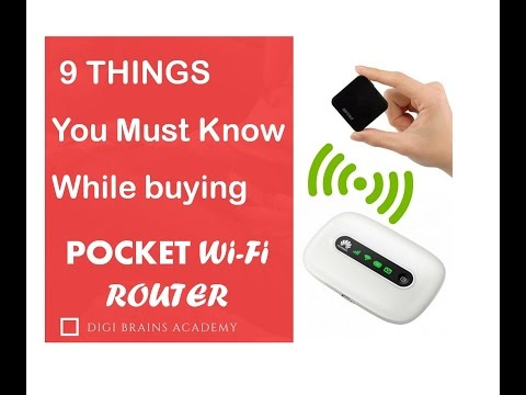 9 Powerful Tips for buying pocket Wi fi Router
