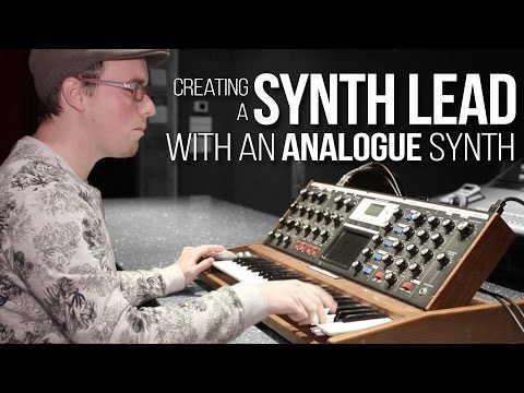 Creating a Synth Lead on an Analogue Synth | Metalworks Institute