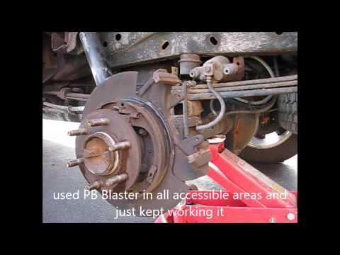 F150 brake rotors, pads, and emergency brake