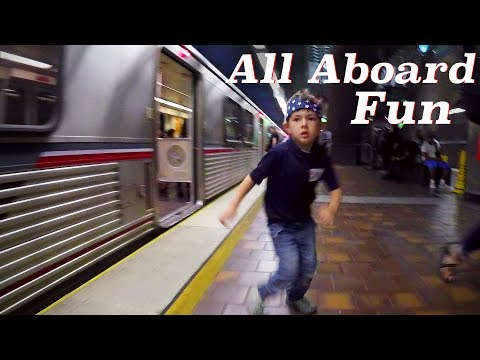 Metro Los Angeles Trains & Subway to Downtown 4th of July Block Party