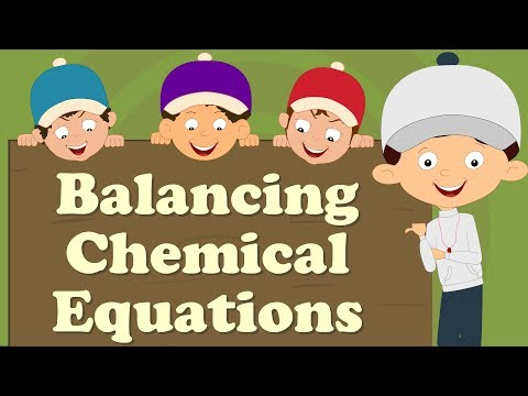 Balancing Chemical Equations for beginners | It's AumSum Time