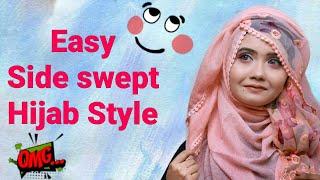 Hijab Tutorial For Pohela Boishakh 2018 With Two Hijab Sanji Da