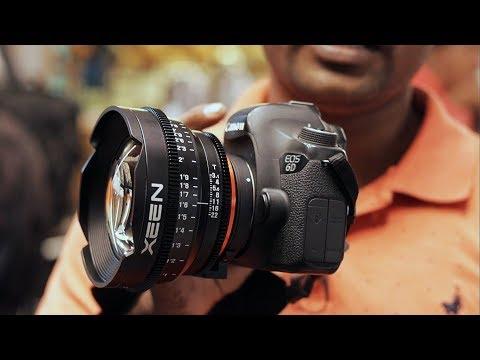 Canon camera and Cinema Lens vs Photography Lens?