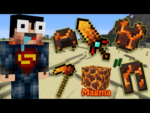 If Magma Tools Existed - Minecraft