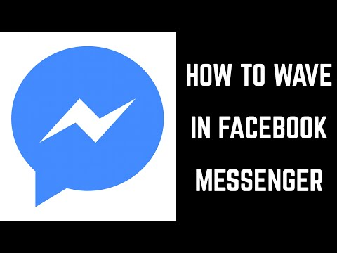 How to Wave in Facebook Messenger