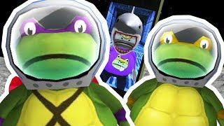 TEENAGE MUTANT NINJA TURTLE FROGS TRAPPED IN SPACE - Amazing Frog - Part 108 | Pungence