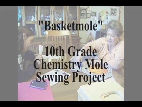 10th Grade  Chemistry Mole Sewing Project