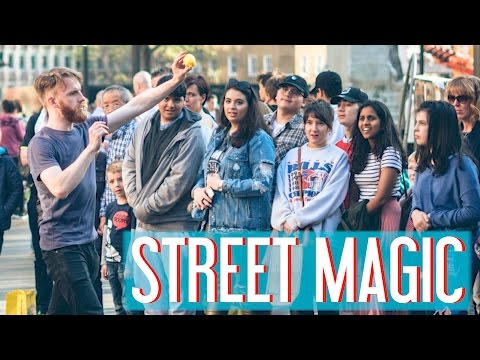 STREET MAGICIAN: One Year Of Street Performing!