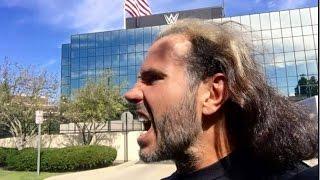 WWE BROKEN MATT HARDY INVADES WWE Headquarters Breaking News Matt Hardy WWE RETURN 2017