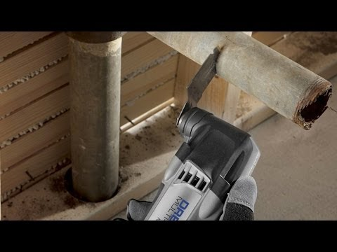 Dremel MM30 - Cutting to Replace Steel Drainage Pipe