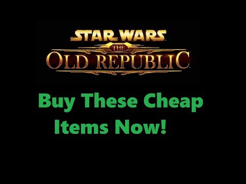 SWTOR: What To Buy Low Sell High Patch 5.3/5.4