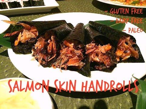Salmon Skin Handrolls, Monday Munchies