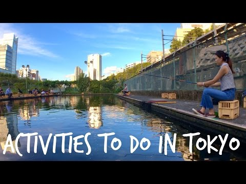Cheap And Fun Things To Do In Tokyo: Fishing In The Center Tokyo | Tokyo Japan Travel Guide