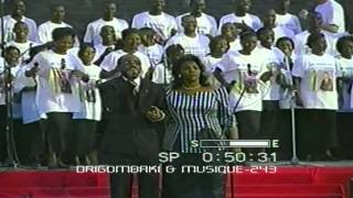 Papa Charles Mombaya concert d'action de grace l'an 2000 avec plusieurs artistes invité