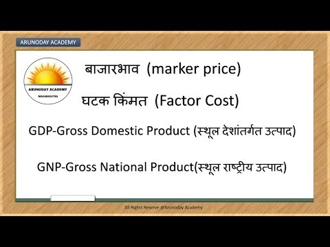 Indian ECONOMY    GDP/GNP/NDP/NNP, etc    Important concepts   For MPSC,PSI,STI,ASST,TALATHI