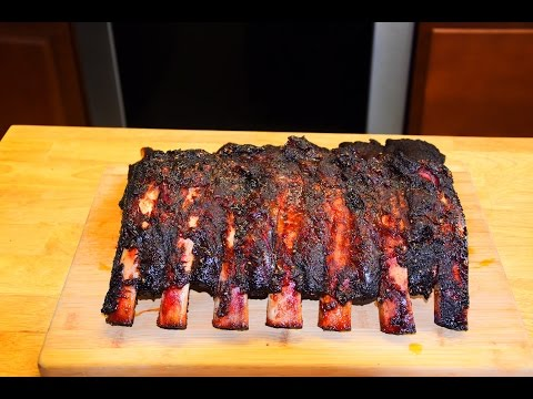 BBQ Beef Ribs Recipe - Smoked BBQ Beef Ribs On An Offset Smoker