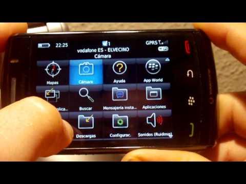 Aprendiendo a configurar la BlackBerry Storm 2