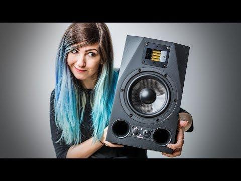 Unboxing $1500 Mixing Speakers - ADAM Audio A7X Studio Monitors Review