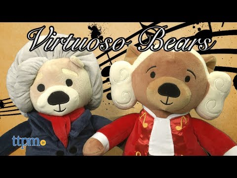 Virtuoso Bears: Amadeus and Ludwig from Vosego