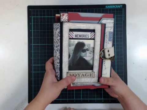 Scrapbook - Paper crafting Personal Organizer