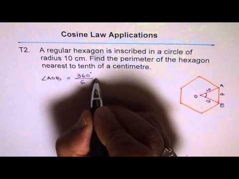 Perimeter of Inscribed Regular Hexagon T2