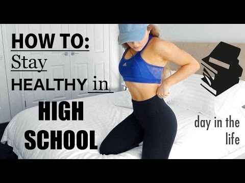 How To Stay Healthy in HIGH SCHOOL | A Day in the Life | Conagh Kathleen