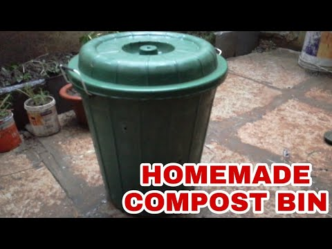 How To Make Compost Bin - DIY