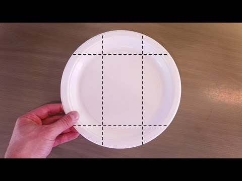 Paper Plate Folding Hack - Party Food Gift Box
