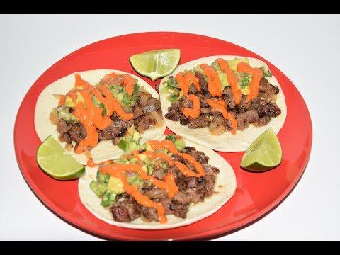 Leftover Steak Street Tacos - Steak Tacos Recipe - Taco Recipe