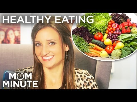 Healthy Eating: Mom Minute with Mindy of CuteGirlsHairstyles