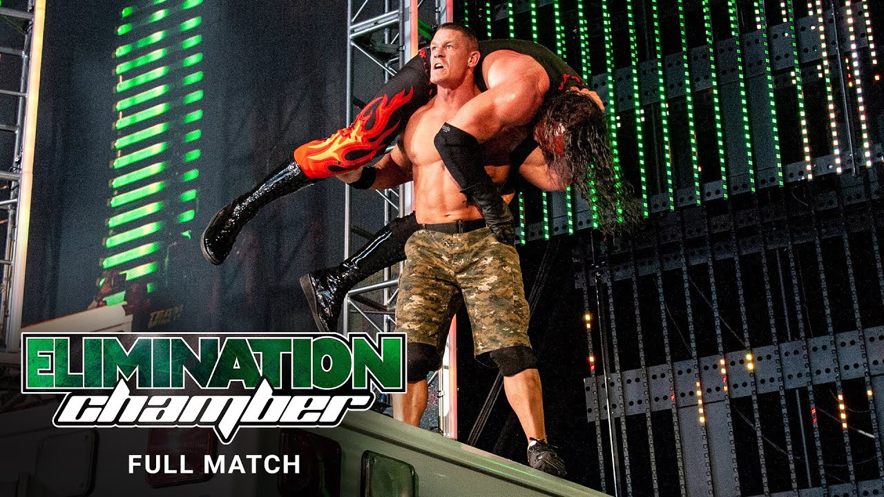 FULL MATCH - John Cena vs. Kane – Ambulance Match: WWE Elimination Chamber 2012