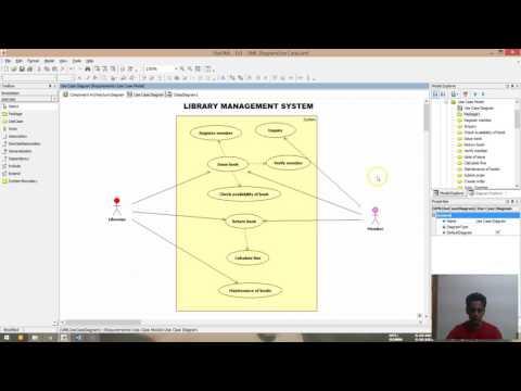 Ex1 Use case diagram (edited) (Case tools Lab)