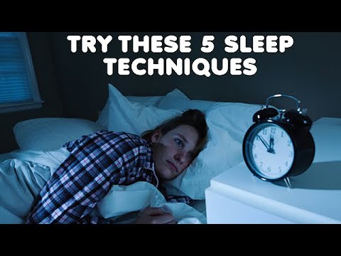 HOW TO FALL ASLEEP FAST - Five Different Easy Methods