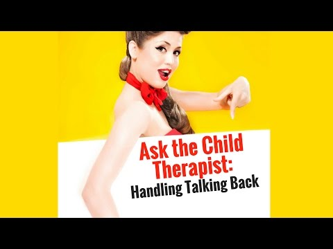 Tips on How to Handle Talking Back