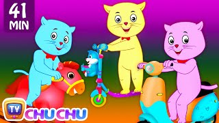Download Three Little Kittens Went To The Park - Nursery Rhymes by Cutians™ | ChuChu TV Kids Songs